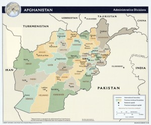 Afghanistan and Bordering Countries