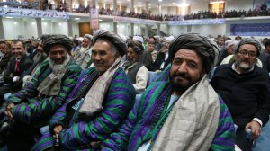 A photo from the 2013 Loya Jirga.