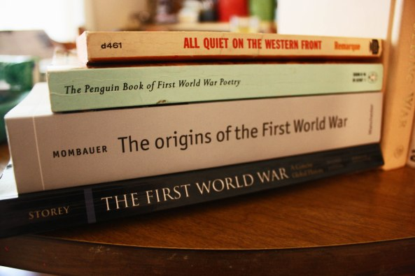 World War One Books