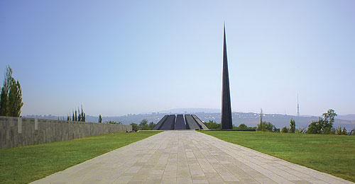 Photo of the Armenian Genocide Memorial Complex