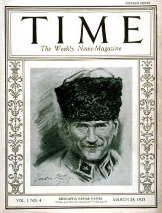 Mustafa Kemal Time Magazine Cover March 24 1923