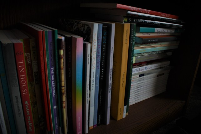 Lit Mag Shelf