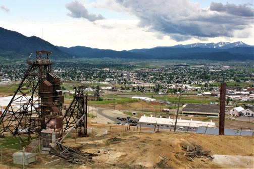 Butte and Rig